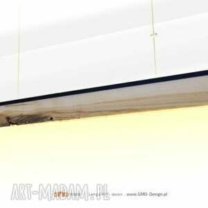 czarne loft lampa rift 160 cm, dół