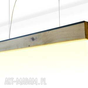 unikalne stare drewno lampa rift 160 cm, dół