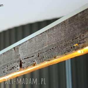 efektowne lampy stare-drewno lampa rift 140 cm, dół