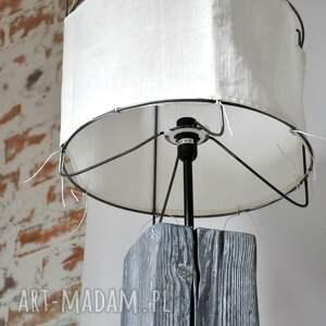 salon lampy szare lampa stojąca - wysoka, salonowa