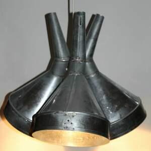 atrakcyjne lampy loft lampa z lejków