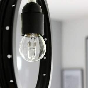 potrójna lampa spider