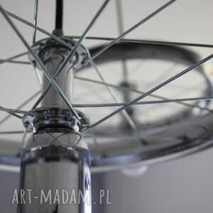 efektowne okrągły potrójna lampa wisząca