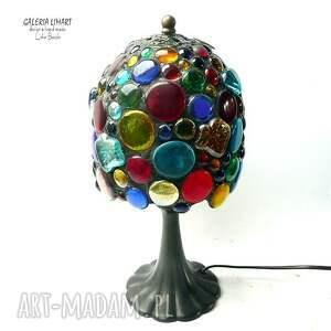 efektowna lampy prezent niezwykły. lampa hand made