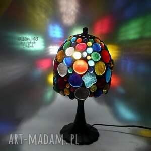 lampy efektowna prezent niezwykły. lampa hand made