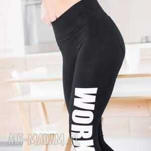 czarne legginsy modnelegginsy modne z fajnym
