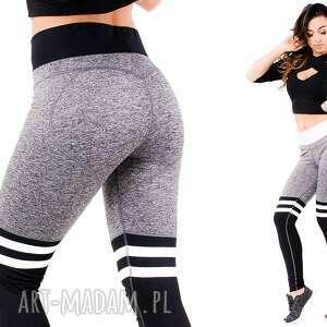 szare legginsy seksowne wyszczuplające