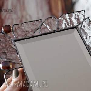 lusterka lustro stojące lusterko witrażowe cristal