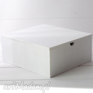 lusterka drewniana toaletka - box, duża,