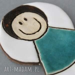 eleganckie magnesy minimalizm aniołek magnes ceramiczny