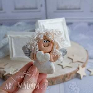 magnesy aniołek stróż - uroczy prezent