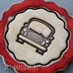 świąteczne prezentyAuto magnes ceramiczny - święta motoryzacja