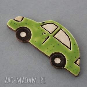 brązowe magnesy minimalizm magnes ceramiczny brum w odcieniach zieleni