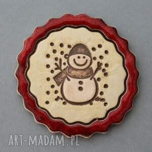 KOPALNIA CIEPLA pomysły na upominki świąteczneCiastek i spółka - magnesy ceramiczne - HandMade minimalizm