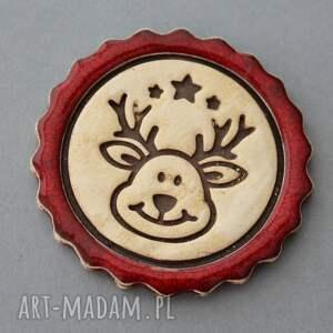 pomysły na upominki świąteczne święta ciastek i spółka - magnesy