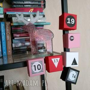 pomysł na upominek boże narodzenie kalendarz adwentowy z magnesem |