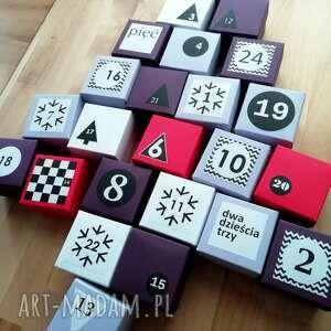 pomysł na upominek kalenadarz kalendarz adwentowy z magnesem |