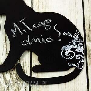 awangardowe magnesy kot magnes notes na lodówkę - kot