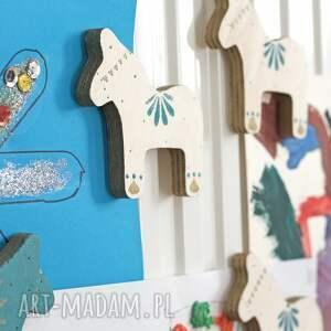 magnesy do pokoju zestaw 2 magnesów ze sklejki seria