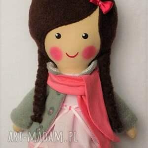 lalka malowana lala wiki z szalikiem