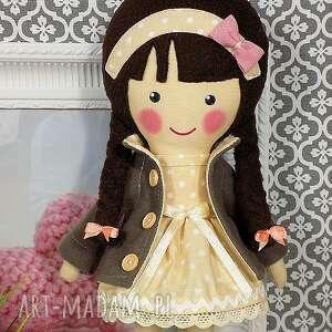 brązowe lalka malowana lala katarzyna