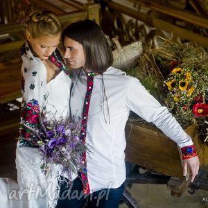 marynarki folk koszula ślubna inspirowana
