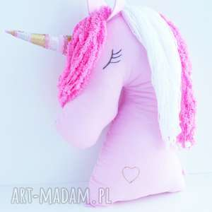 pomysł na prezent unicorn bajkowy jednorożec poduszka