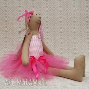 baletnica maskotki różowe w nowej różowej spódnicy