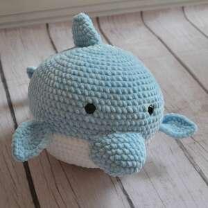 wyjątkowe maskotki duży delfin do spania i