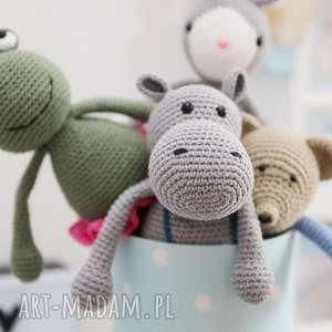 maskotki przytulanka hipopotam romek