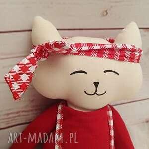 gustowne maskotki kociak tilda przytulanka
