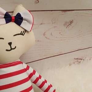 hand made maskotki przytulanka kociak tilda