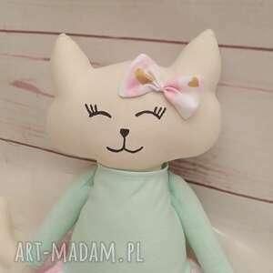 pomysł na prezent święta przytulanka kociak tilda