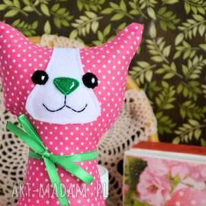 maskotki: Kotek torebkowy - Kinia - 25 cm maskotka
