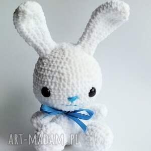sesja maskotki króliczek błękitek