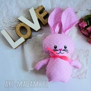 ręcznie wykonane maskotki królik króliczek do tulenia - olcia