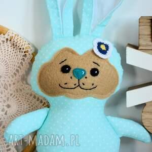unikalne maskotki królik króliczek do tulenia - ewcia (typ
