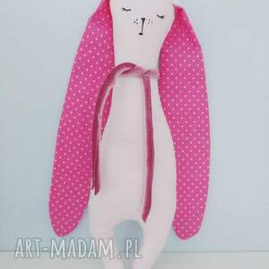 modne maskotki królik króliczek przytulaczek