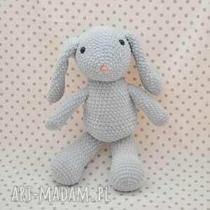 maskotki królik króliczek szaraczek - maskotka