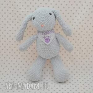 królik maskotki króliczek szaraczek - maskotka
