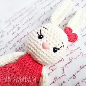 maskotki króliczek króliczka malwina