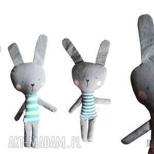 wyjątkowe maskotki bawełna królik kieszonkowy, w tiszerku
