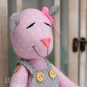 urokliwe maskotki królik miś z imieniem
