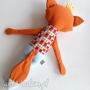 lis maskotki pomarańczowe królisek