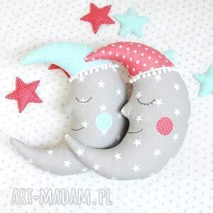 maskotki poduszka księżyc