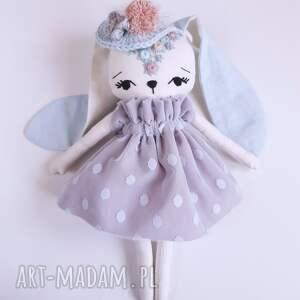 królik maskotki niebieskie lalka dobrusia