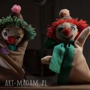 pacynka maskotki lalka na rękę pomarańczowy