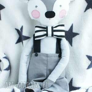 lalka maskotki białe przytulanka koziołek