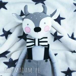 szare maskotki zabawka lalka przytulanka koziołek