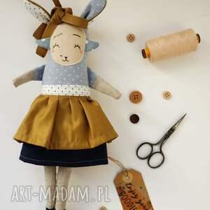 wyjątkowe maskotki lalka z tkaniny - hand made - juno